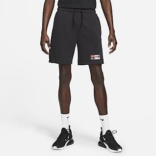 Nike F.C. Voetbalshorts van fleece voor heren