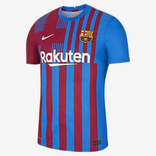 Equipamento principal Match FC Barcelona 2021/22 Camisola de futebol Nike Dri-FIT ADV para homem