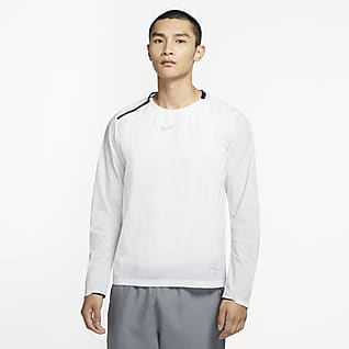 Nike Run Division Men's Woven Running Midlayer Top