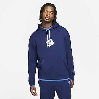 Jordan Jumpman Classics Sudadera con capucha sin cierre de tejido Fleece con estampado para hombre