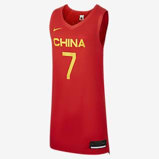 中国队(客场)球员版 Nike 女子篮球球衣