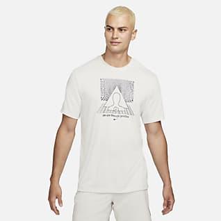 Nike Yoga Dri-FIT Pánské tričko s potiskem