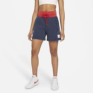 Jordan Flight Shorts de tejido Fleece para mujer