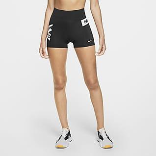 Nike Pro Calções com grafismo para mulher