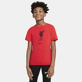 Liverpool FC Fotbolls-t-shirt för ungdom