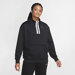 Nike Therma-FIT Women's 1/2-Zip Graphic Training Crew