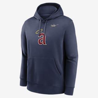 Nike Cooperstown Club (MLB Los Angeles Angels) Men's Pullover Hoodie