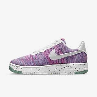 Nike Air Force 1 Crater FlyKnit Sko för kvinnor