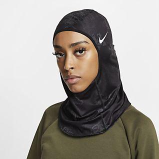 Nike Pro Hijab imprimé