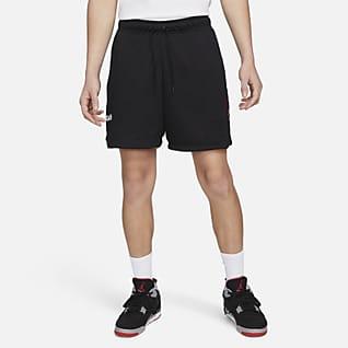 Jordan AJ5 Shorts i mesh med tryck för män