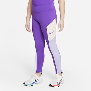 Nike Trophy Leggings de entrenamiento para niña talla grande