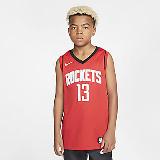Rockets Icon Edition Older Kids' Nike NBA Swingman Jersey
