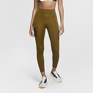 Nike Pro Mallas estampadas de 7/8 para mujer