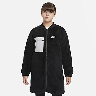 Nike Sportswear Χειμερινό τζάκετ για μεγάλα κορίτσια (μεγαλύτερο μέγεθος)