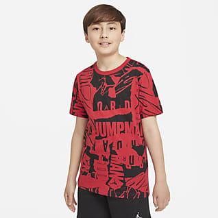 Jordan Playera estampada para niños talla grande