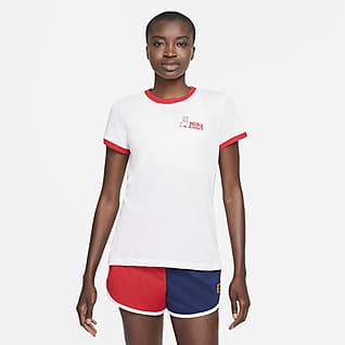 NikeCourt Dri-FIT Tennis-T-skjorte til dame