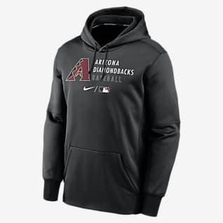 Nike Therma (MLB Arizona Diamondbacks) Men's Pullover Hoodie