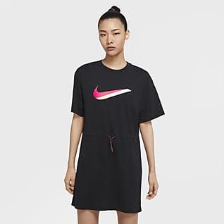 Nike Sportswear Kortærmet kjole til kvinder