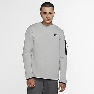 Nike Sportswear Tech Fleece Kerek nyakkivágású férfipulóver