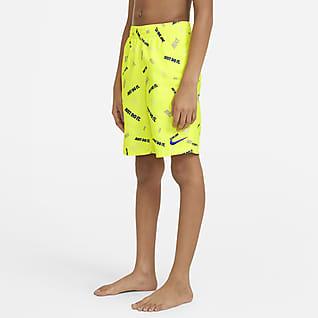Nike Logofetti Shorts de baño de 20 cm para niño talla grande