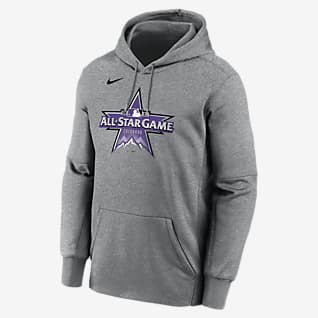 Nike Therma 2021 All-Star Game Logo (MLB) Sudadera con gorro sin cierre para hombre