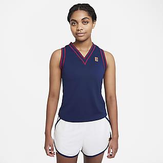 NikeCourt Dri-FIT Slam Samarreta de tirants de tennis - Dona