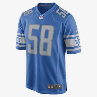 NFL Detroit Lions (Penei Sewell) Men's Game Football Jersey