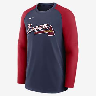 Nike Dri-FIT Pregame (MLB Atlanta Braves) Men's Long-Sleeve Top