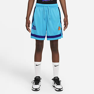 Nike Fly x Space Jam: A New Legacy Shorts de básquetbol Crossover para mujer