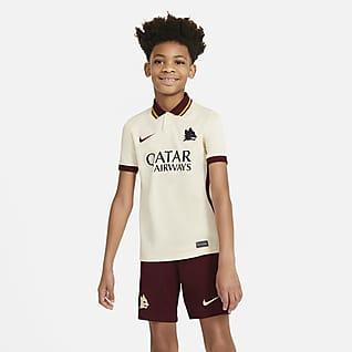 A.S. Roma 2020/21 Stadium (bortedrakt) Fotballdrakt til store barn
