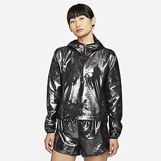Nike Air เสื้อแจ็คเก็ตวิ่งผู้หญิง