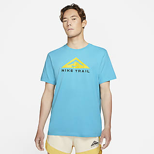 Nike Dri-FIT Kısa Kollu Arazi Tipi Koşu Tişörtü
