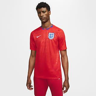 England Kortärmad fotbollströja för män