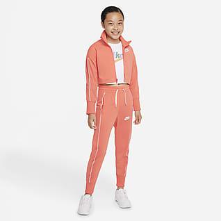 Nike Sportswear Big Kids' (Girls') High-Waisted Tracksuit