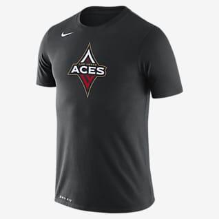 Las Vegas Aces Logo Playera Nike Dri-FIT WNBA