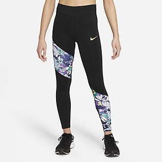 Nike Dri-FIT One Older Kids' (Girls') Leggings