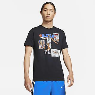 LeBron Logo 男款籃球 T 恤