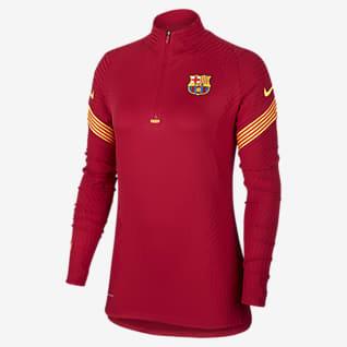 VaporKnit Strike FC Barcelona Camiseta de entrenamiento de fútbol - Mujer