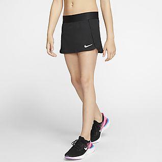 NikeCourt Falda de tenis - Niña
