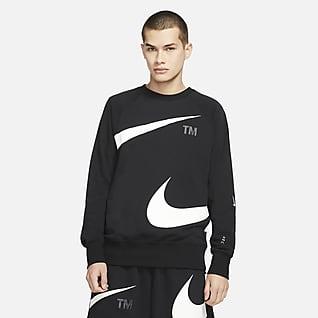 Nike Sportswear Swoosh Fleecegenser til herre