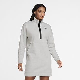 Nike Sportswear Tech Fleece เดรสซิปสั้นผู้หญิง