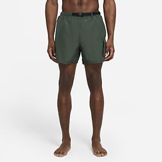 Nike Opvouwbare zwembroek met riem voor heren (13 cm)