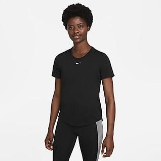 Nike Dri-FIT One Normál fazonú, rövid ujjú női póló