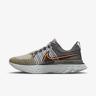 Nike React Infinity Run Flyknit 2 Löparsko för hårt underlag för män