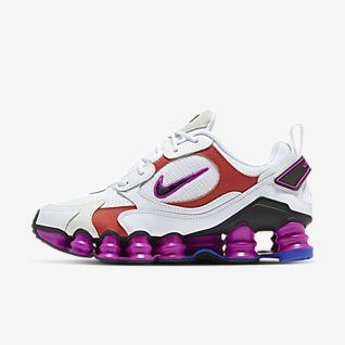 Vit Nike Shox Skor. Nike SE