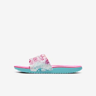 Nike Kawa Chancla para niños talla pequeña y talla grande