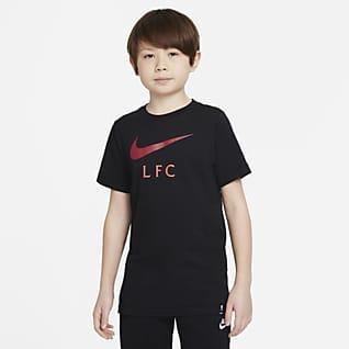Liverpool FC Playera de fútbol para niños talla grande