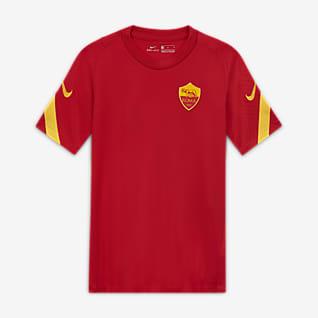 A.S. Roma Strike Camiseta de fútbol de manga corta para niños talla grande