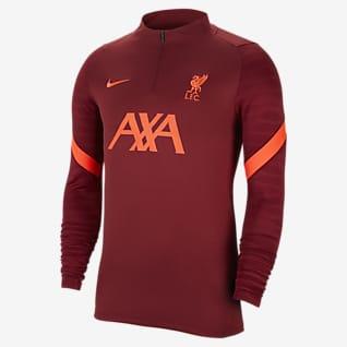 Liverpool FC Strike Drill-Fußballoberteil für Herren