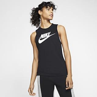 Nike Sportswear Женская майка с широкими проймами